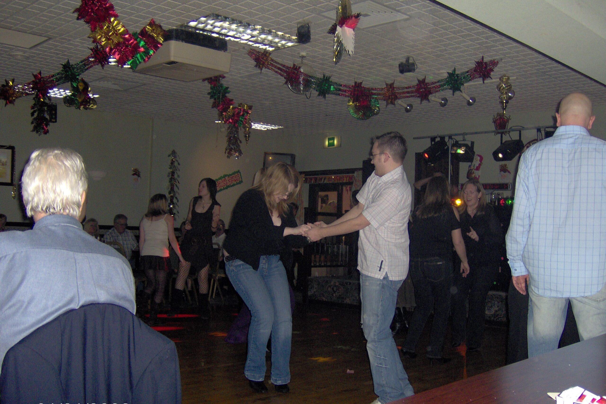Emma and Tony Dancing